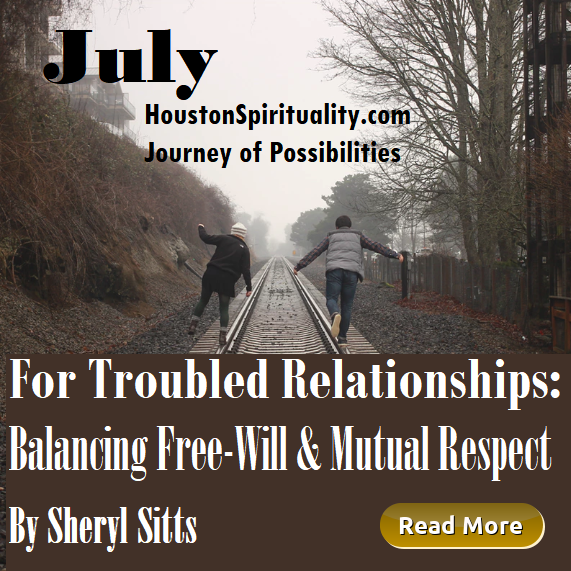Relationships: Balancing Free-Will and Mutual Respect