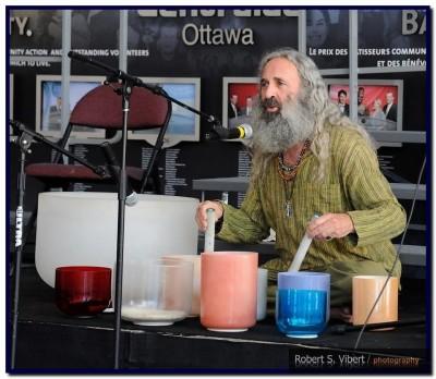 EP135 Jay Schwed Crystal Bowls Create Balance & Harmony on Exploring Possibilities