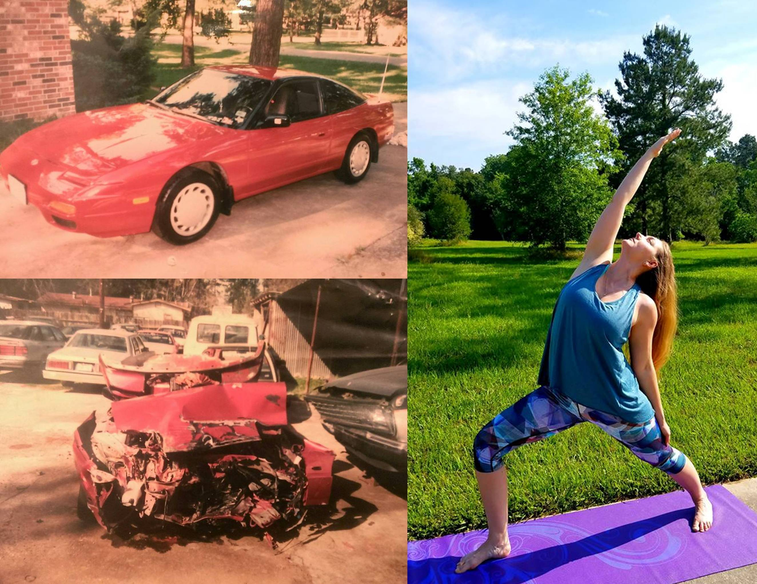 EP185 Yoga Heals Jessica Jamison (Without Surgery) After Head-On Collision on Exploring Possibilities
