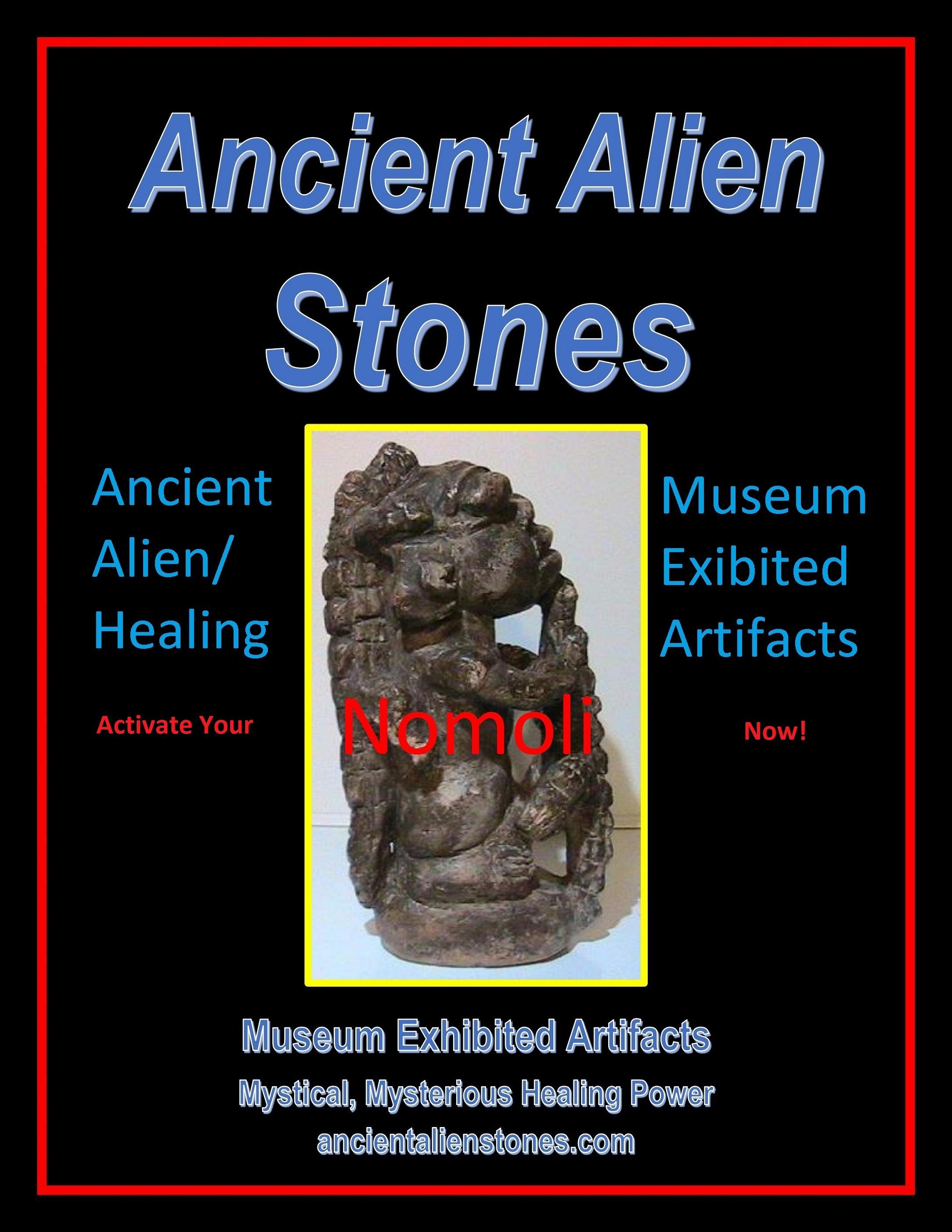 """Nomoli: Unknown """"Ancient Alien Stones"""" by Bennett J. Vonderheide"""